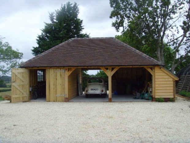 148 Best Images About Oak Houses On Pinterest Wooden Carport Sussex