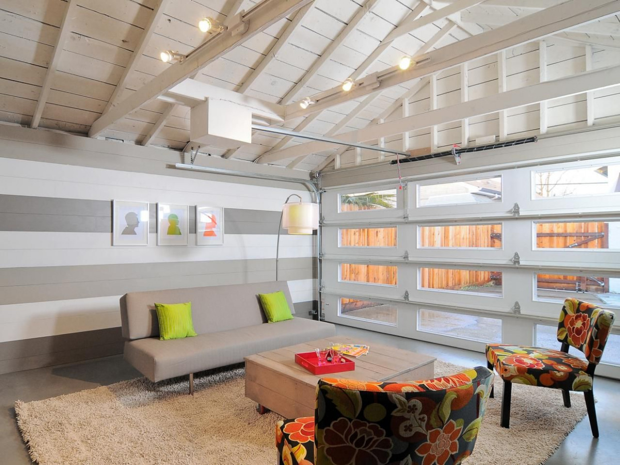 15 Home Garages Transformed Into Beautiful Living Spaces ..