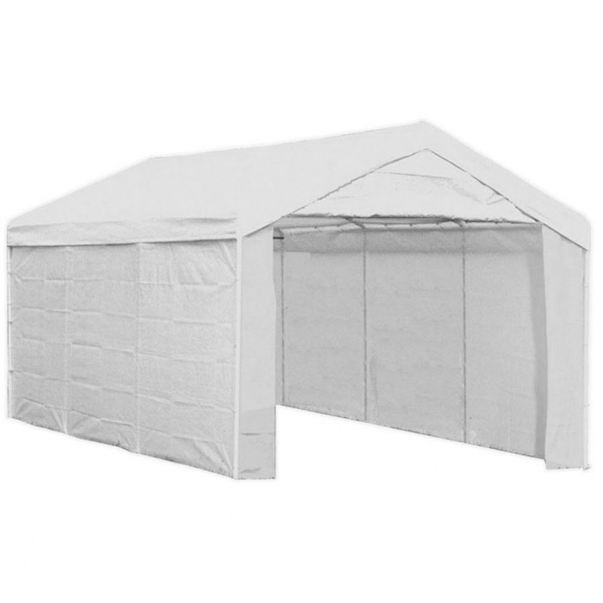 Shelterlogic 10 X 20 Enclosed Carport In Carports Temporary Enclosed Carport.jpg
