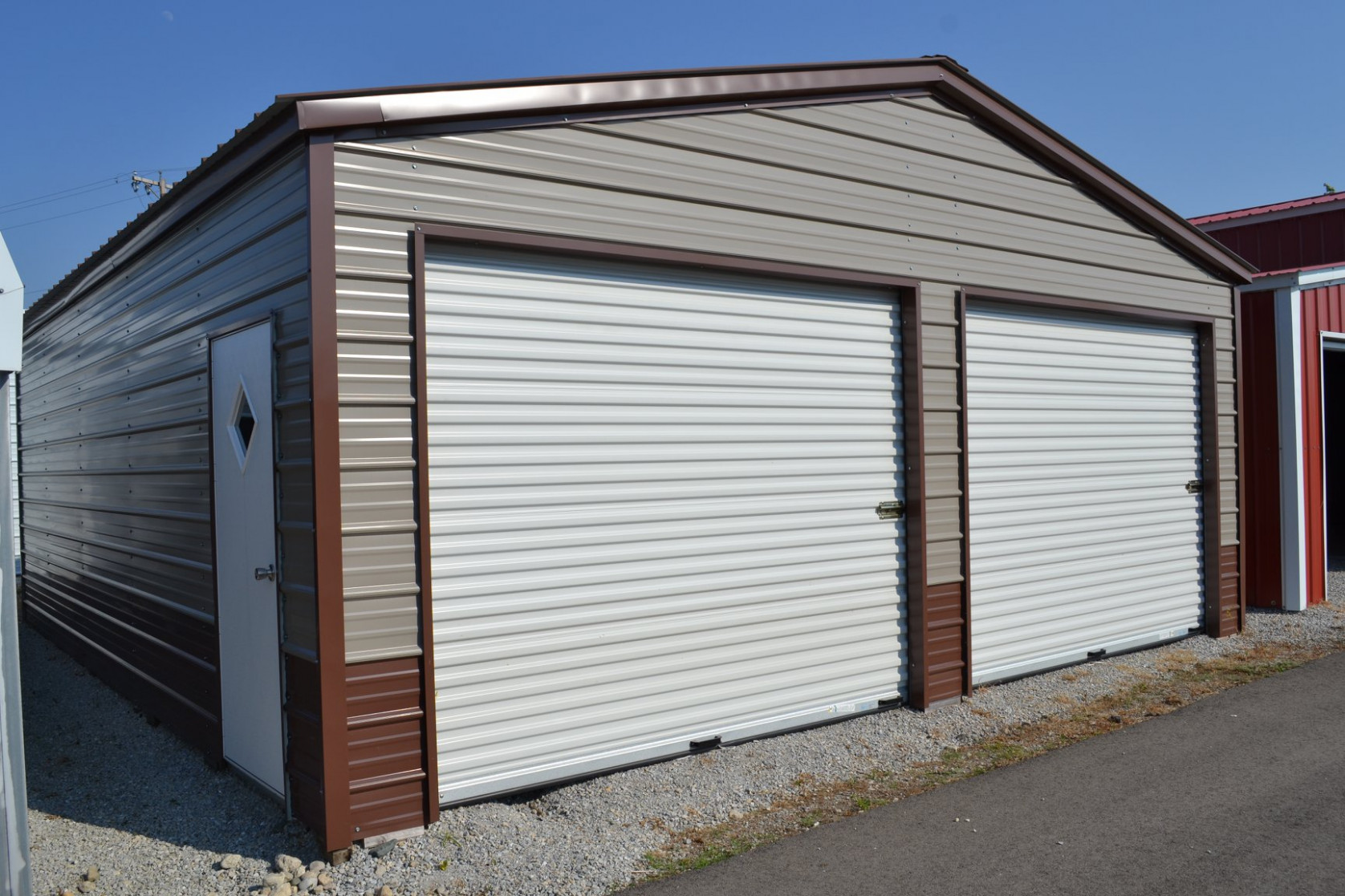 Enclosed Garage Customization Options Wholesale Direct Enclosed Carports Installed.jpg