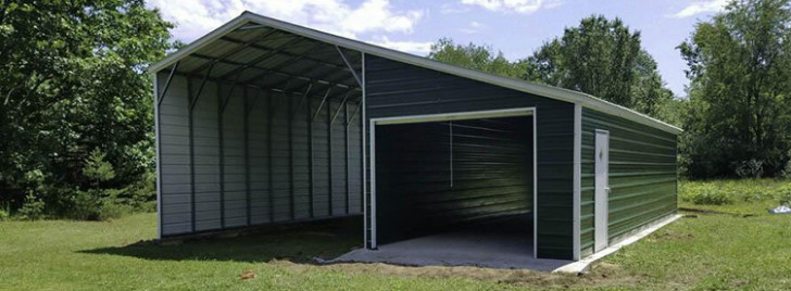 Custom Carports And Metal Buildings Wholesale Direct Carports Enclosed Carports In Texas.jpg