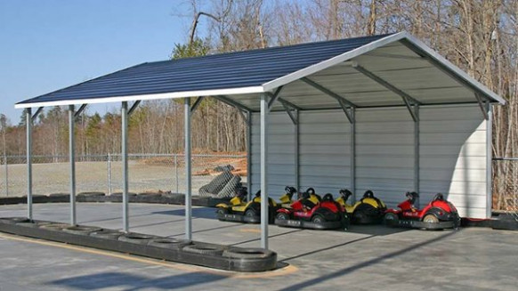Boxed Eave Carports Amp A Frame Carports In Various Sizes How To Frame A Carport Door.jpg