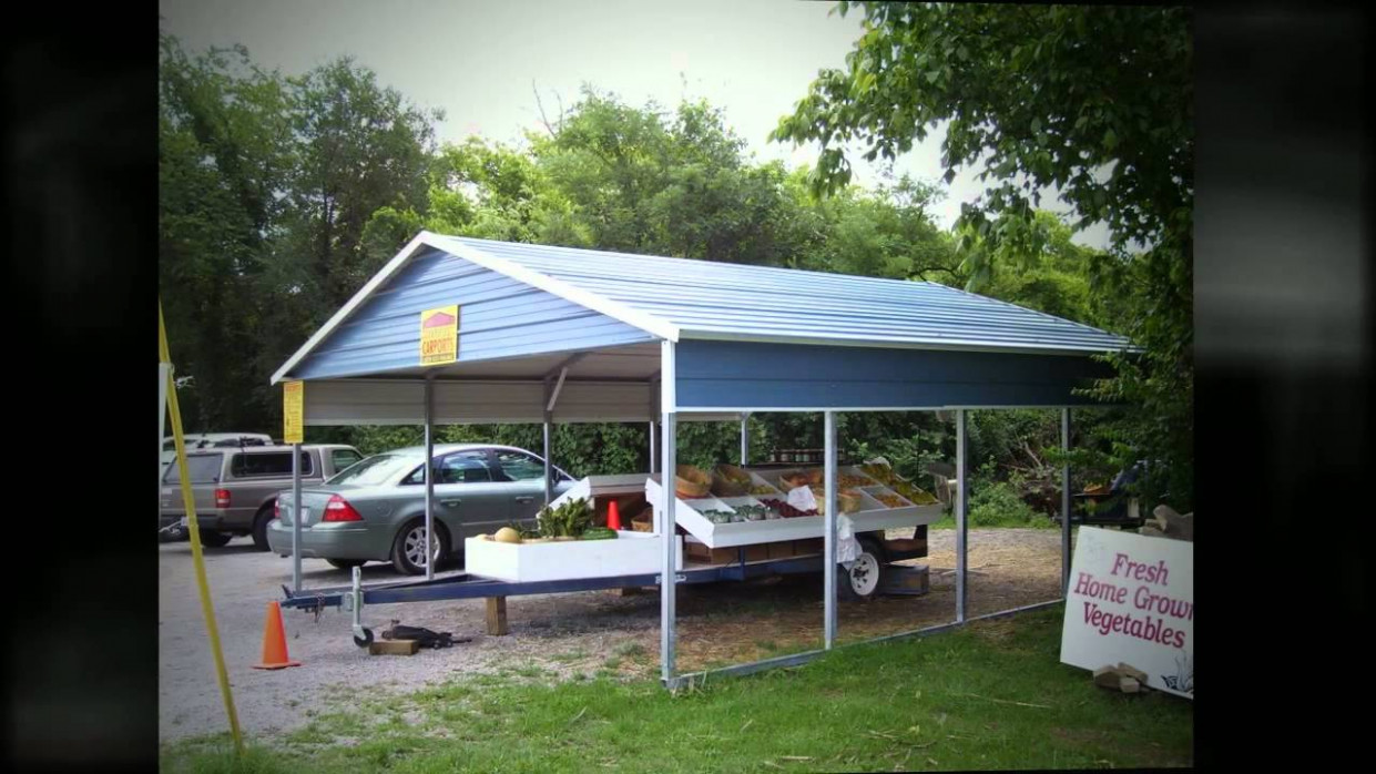 Boxed Eave Carports From Ezcarports Com Boxed Eave Roof Carport.jpg