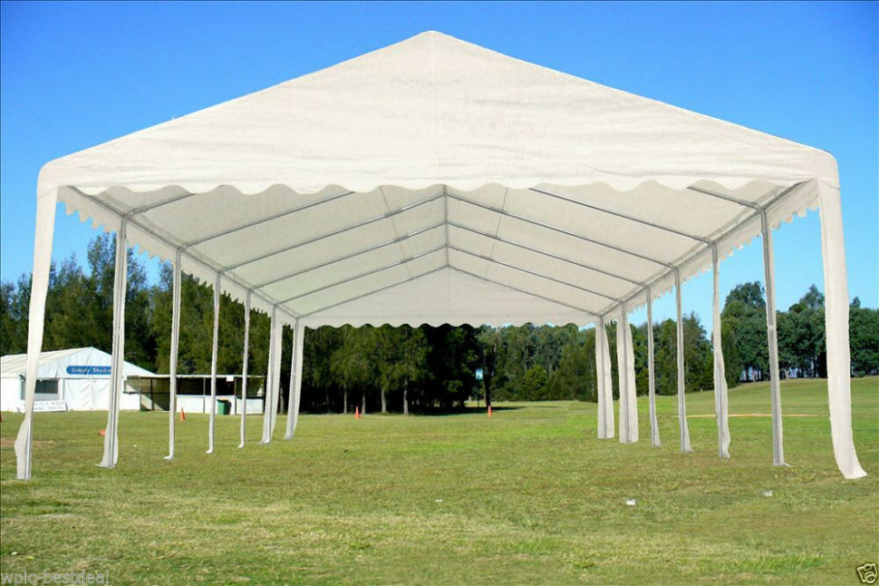 40 39 X 16 39 Pe Party Tent Heavy Duty Carport Canopy Sears Carport Canopy.jpg