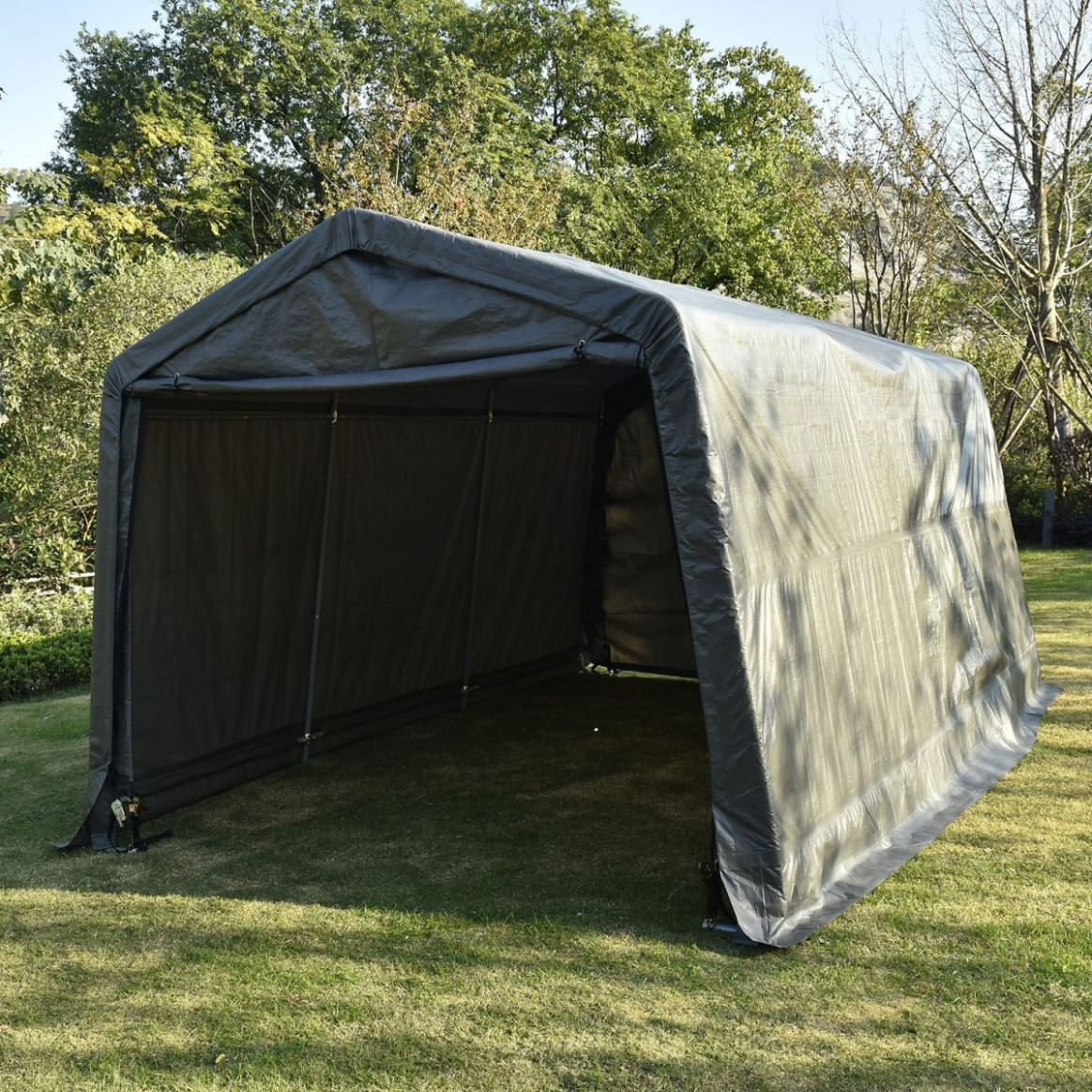 8 Portable Carport Shelters To Take Care Of Your Car Cloth Carport Canopy.jpg