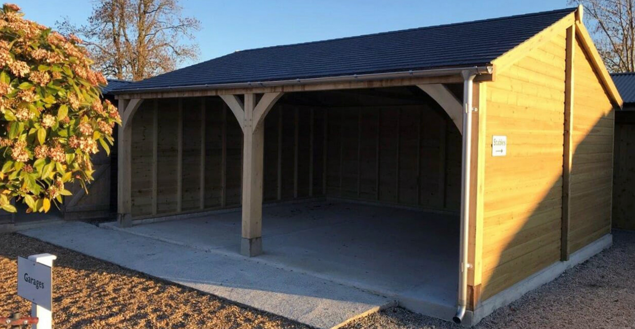 Wooden Carports In Devon By Shields Garden Buildings Materials Needed To Build A Wooden Carport.jpg