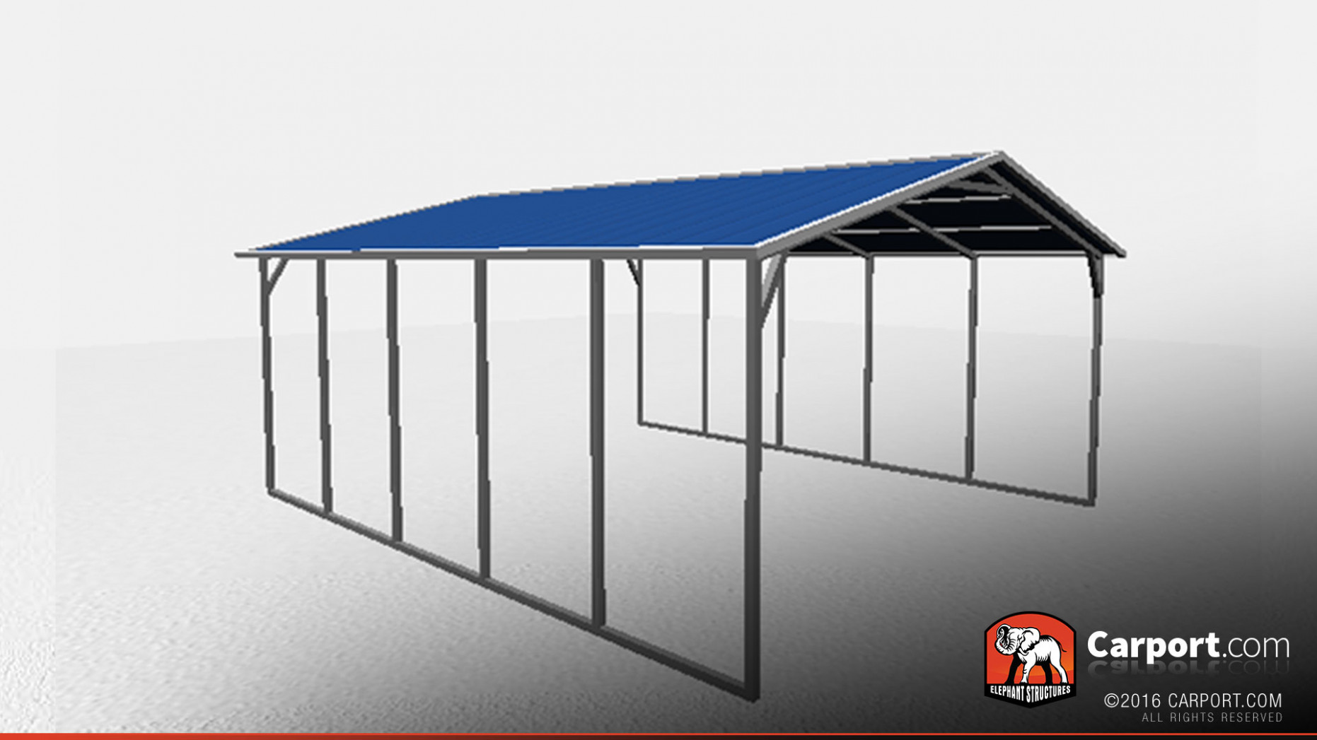 18' X 21' Vertical Roof Metal Carport Shelter | Metal ..