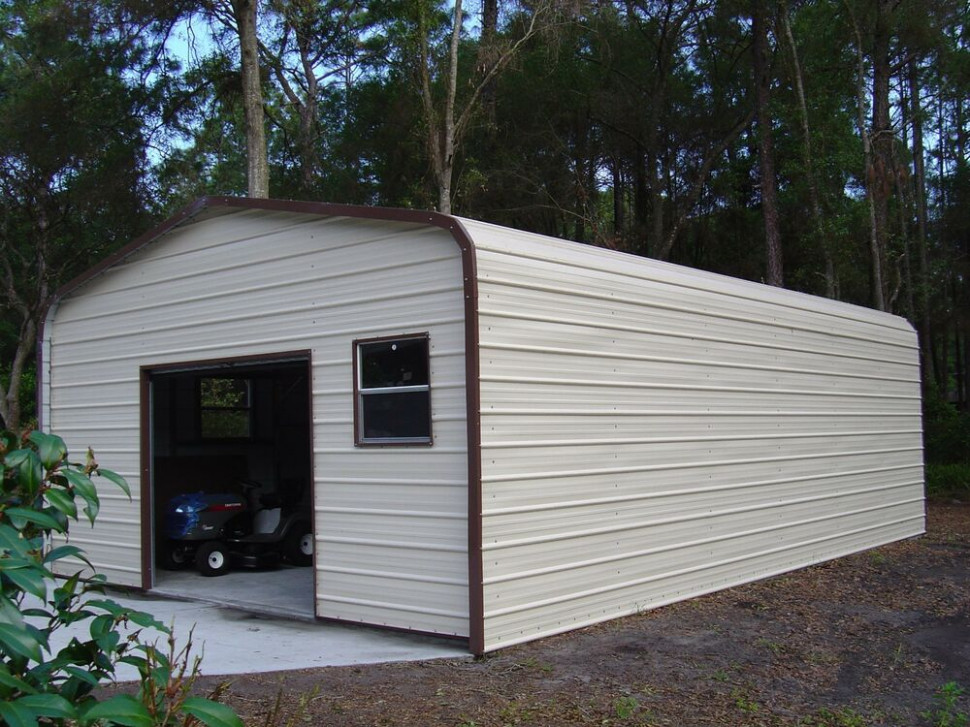 18 X 26 X 8 Metal Building Delivered/Installed One Car ..