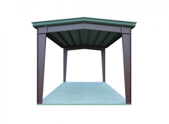18x20 Metal Carport Package: Quick Prices | General Steel Shop Carport Vs Garage Cost