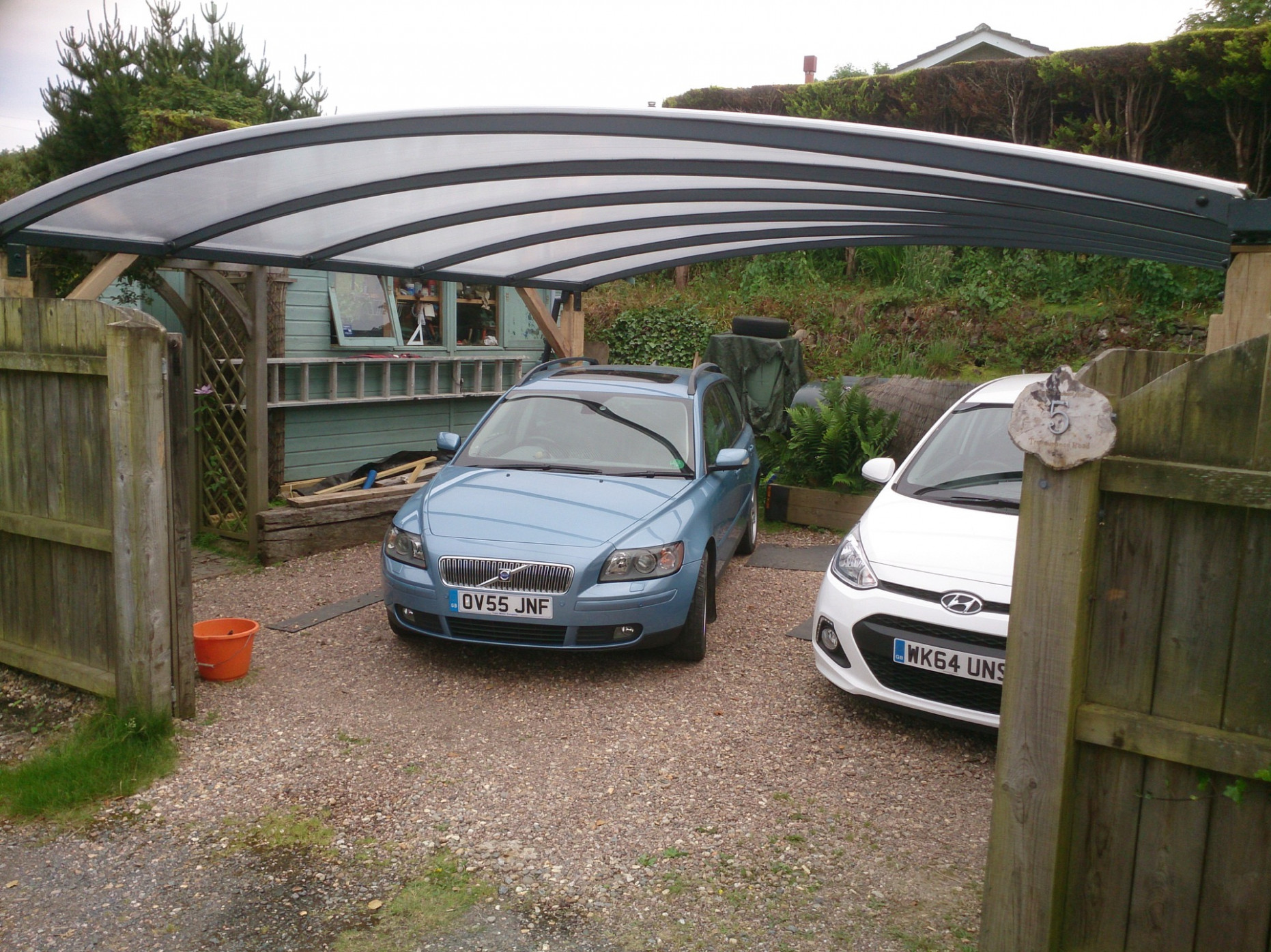 2 Car Carport For Covering Your Cars   Kappion Carports ..