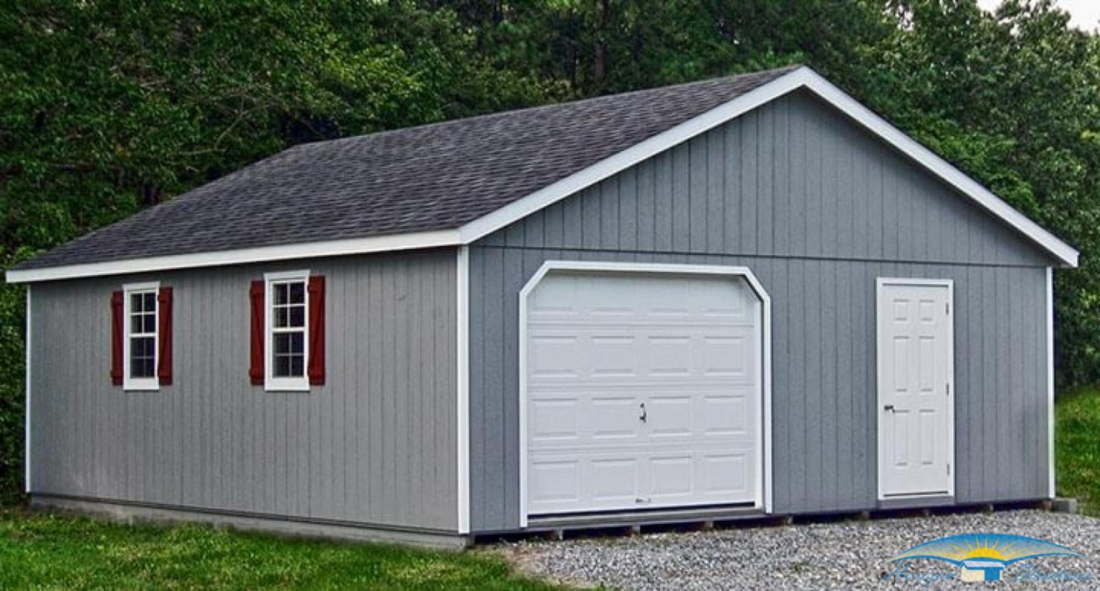 2 Car Prefab Garages | Car Garage For Sale | Horizon ..