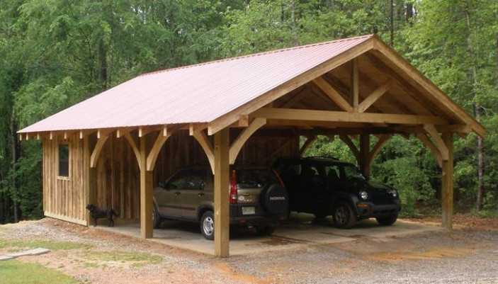 20 Stylish DIY Carport Plans That Will Protect Your Car ...
