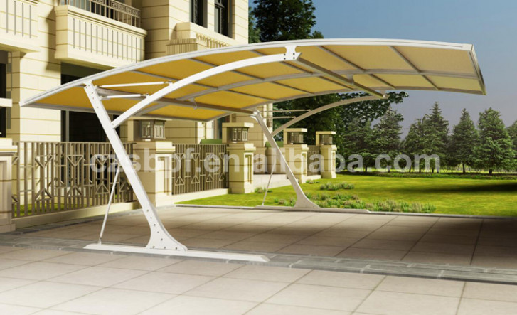 2018 Modern Aluminium Carport With Cantilever Roof Buy ..