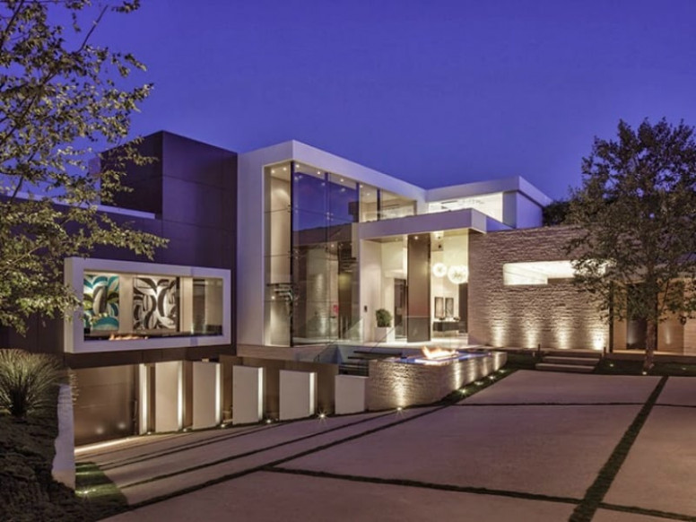 22 Outstanding Modern Mansions For Luxury Living Modern Carports Beverly Hills
