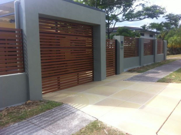 234 Best Images About Block Wall, Fence On Pinterest ..