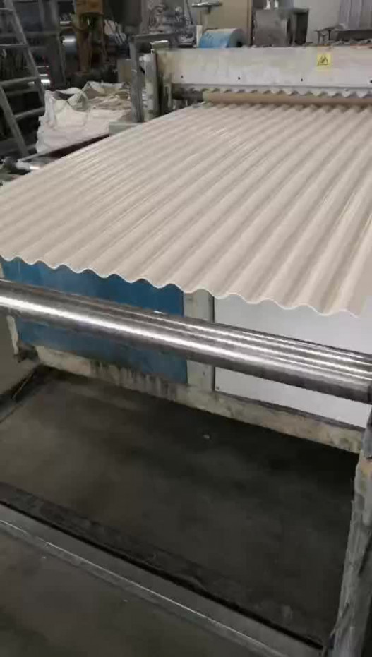 3 Layers Waterproof Plastic Upvc Roofing Sheets Corrugated ..