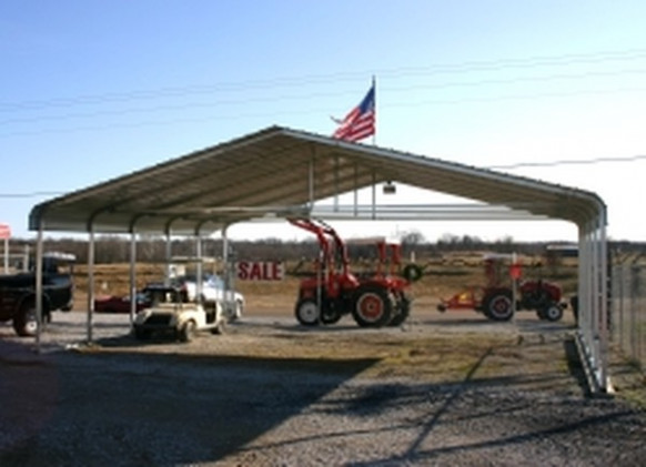 30'ft Wide Metal Carports, Outdoor Canopy Cover Kits ..