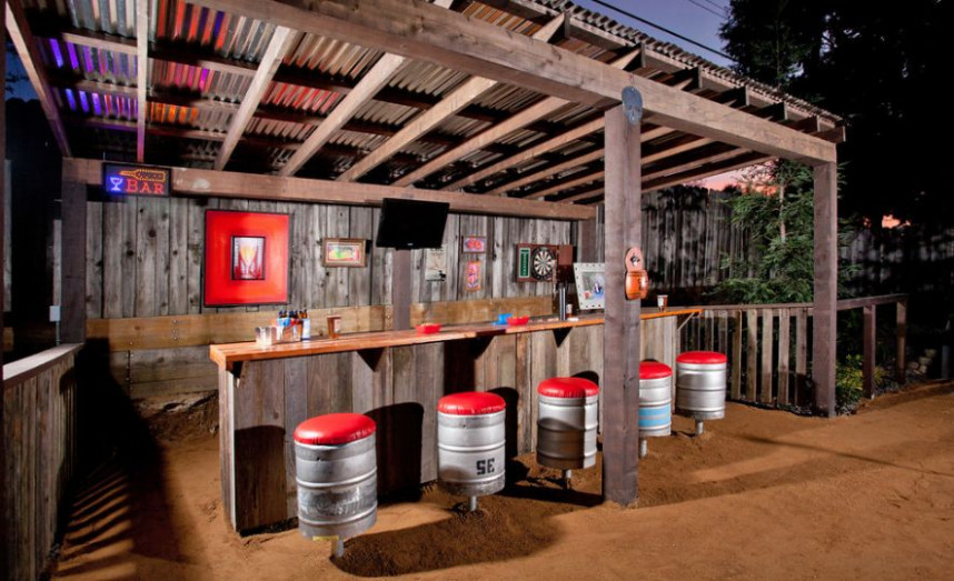 30 Best Man Cave Ideas To Get Inspired · Wow Decor Decorating Carport For Party