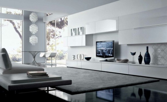 33 Astonishing Modern and Minimalist Living Room Interior ...