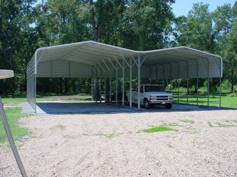 44 X 36 X 11 Regular Carport | Choice Metal Buildings Extend Carport Roof