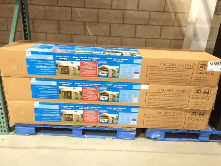 51 Steel Frame Canopy 10x20 Costco, Canopies: Car Canopy ..