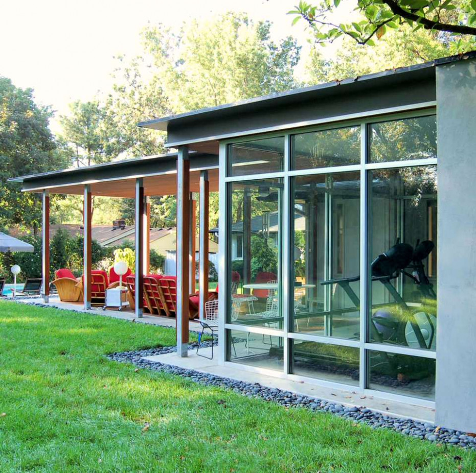8 Garden Designs For Midcentury Modern Homes Carports Contemporary Japan