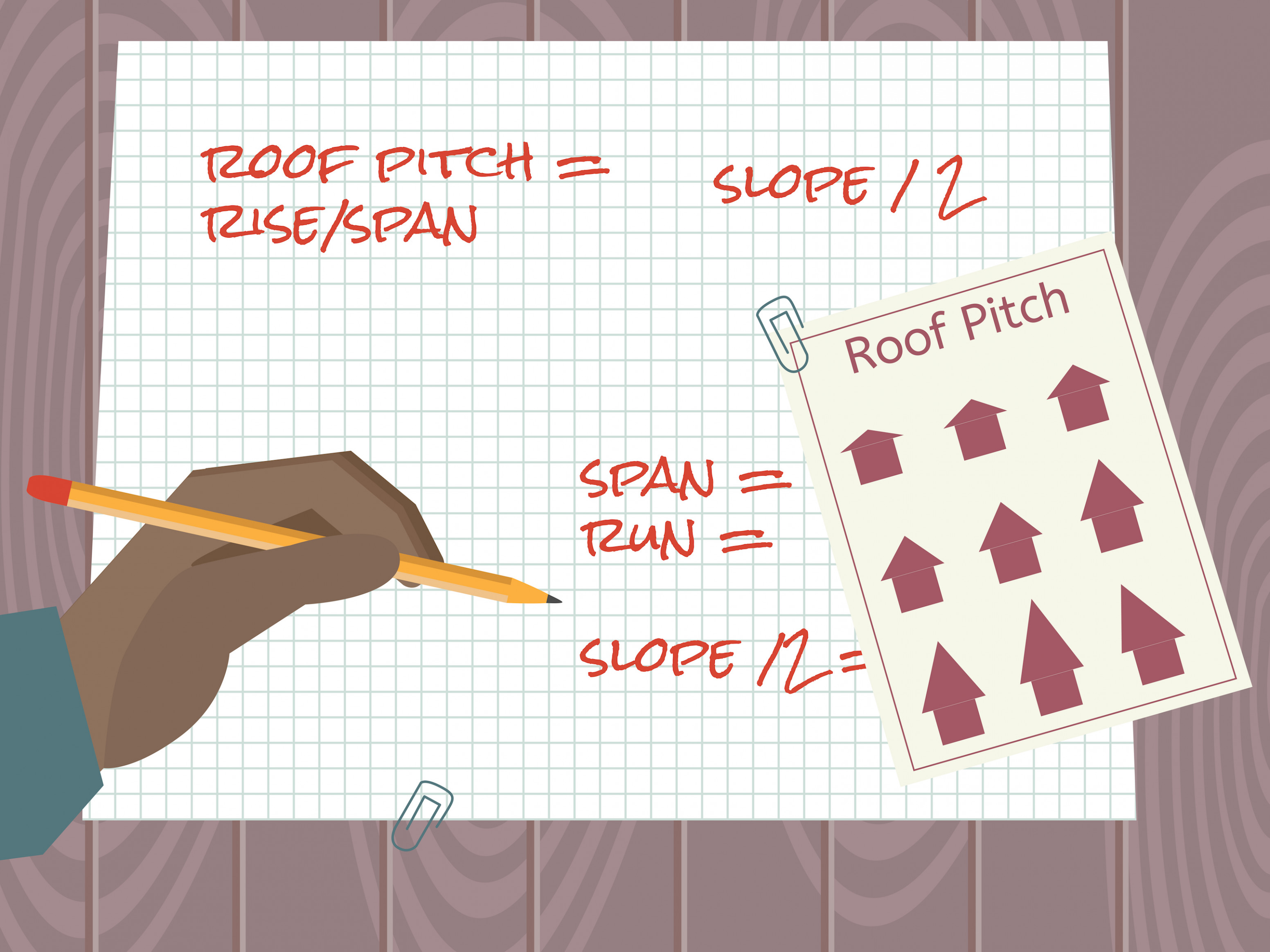 8 Ways To Calculate Roof Pitch WikiHow Carport Roof Calculator