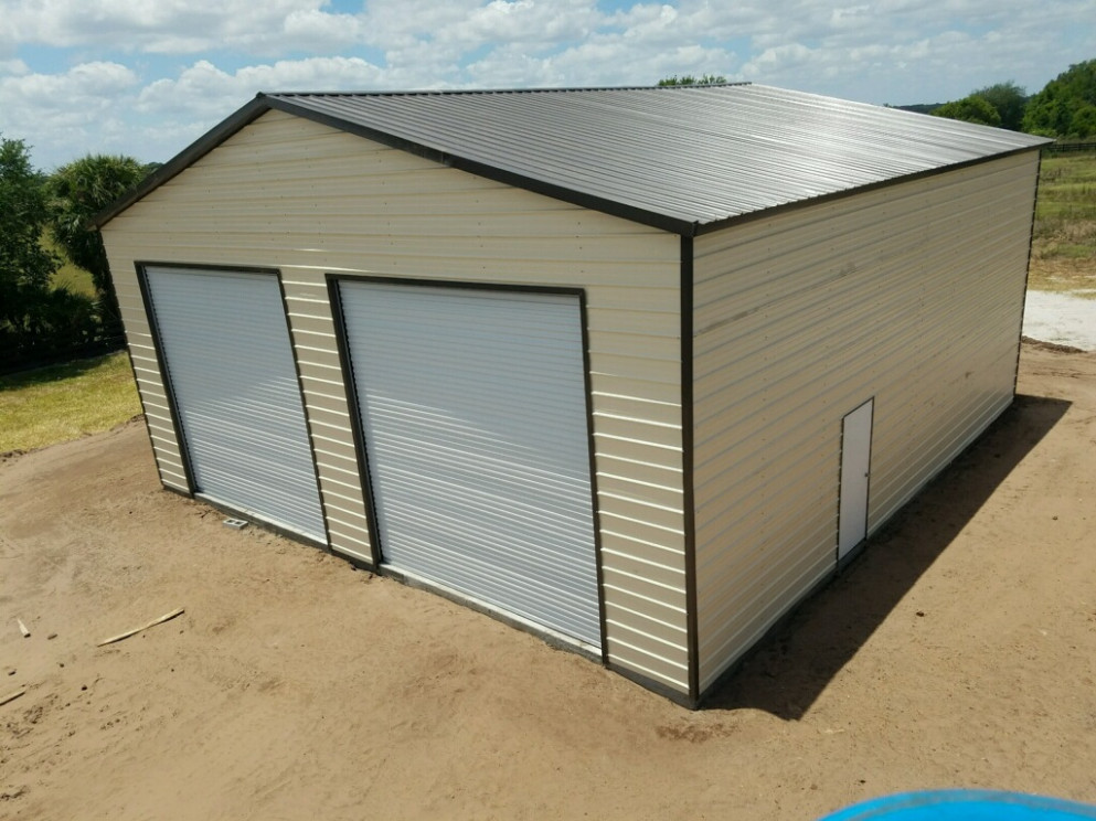 8x8 Garage Central Florida Steel Buildings And Supply Carports And Garages In Ocala