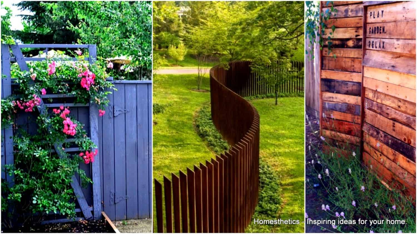 9 Awesome Pallet Fence Ideas to Realize Swiftly in Your ...