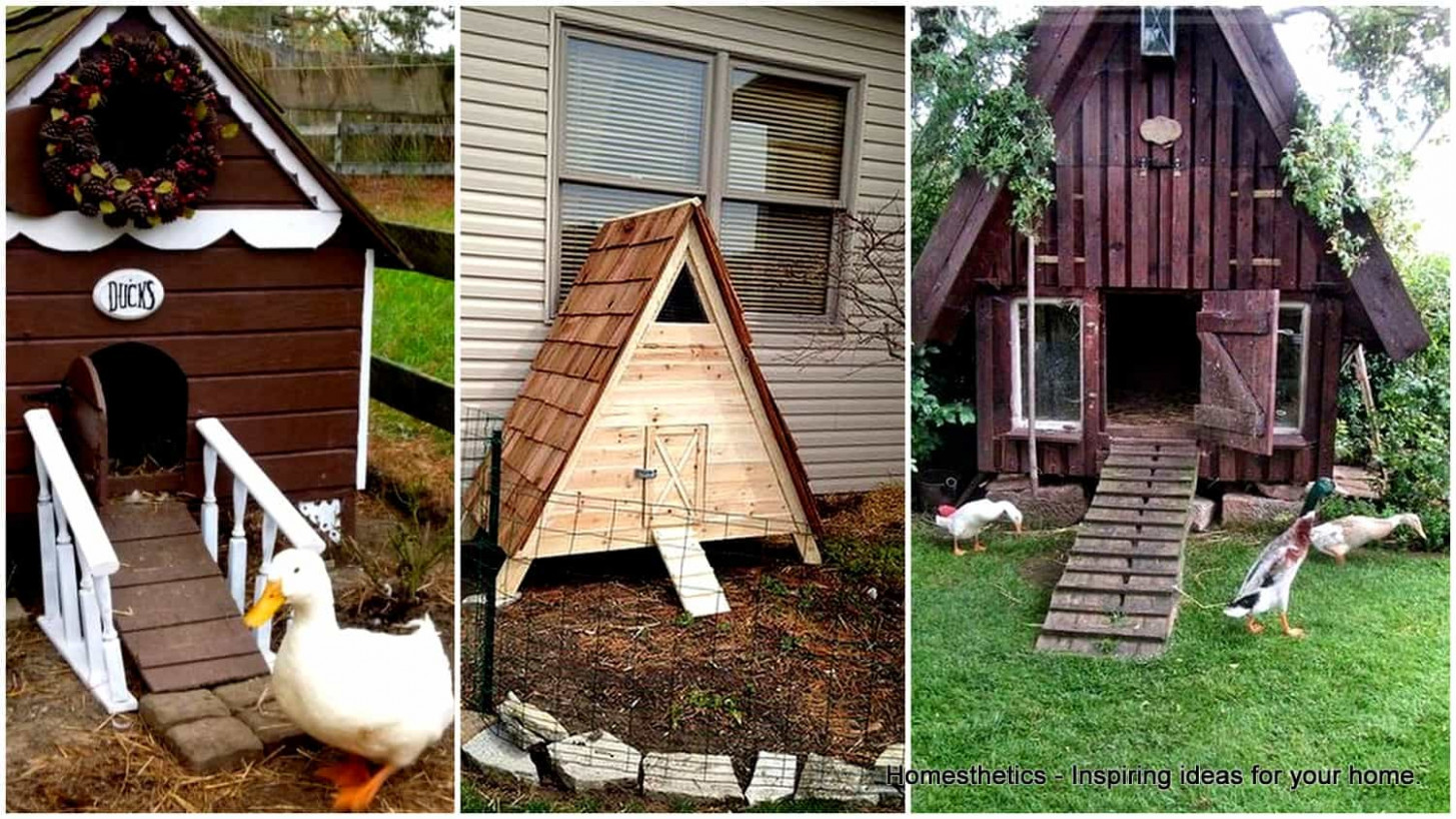 9 FREE DIY Duck Coop Plans & Duck Houses Plans For Enthusiasts Cute Carport Ideas