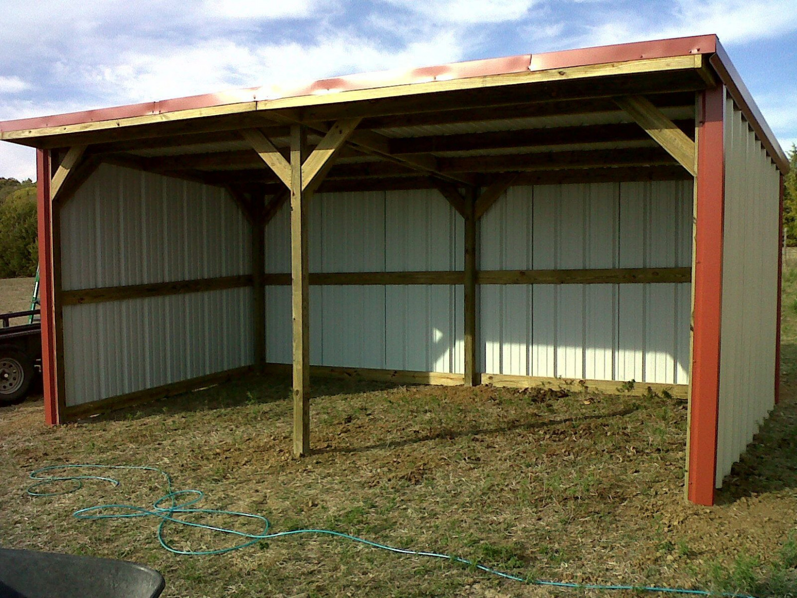 9x9 Loafing Shed | Farm Buildings | Loafing Shed, Run In ..