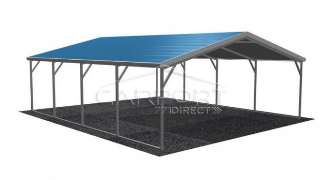 A Frame Carports | Buy Boxed Eave Carports Online Metal Carport Roof Braces