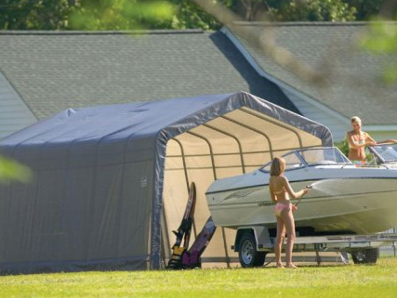 A Portable Garage Or Carport Is An Effective Storage Solution Carport Garage Solution