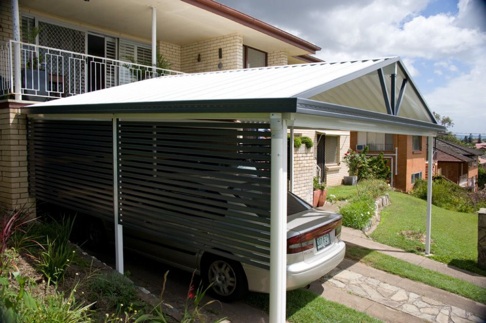 A Privacy Screen Is A Great Idea To Give Your Carport A ..