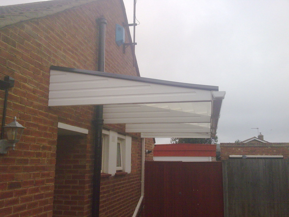 A2z Canopies GRP Cantilever Carport Canopy And Carport
