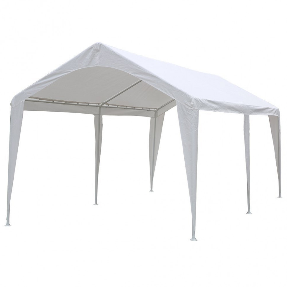 Abba Patio 10 X 10 FtcOutdoor Carport Canopy With 10 Steel ..