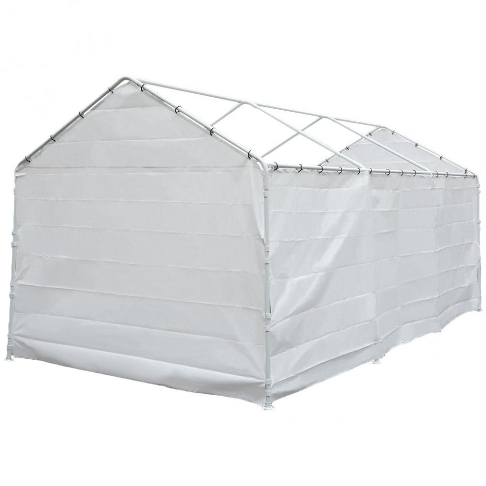 Abba Patio Replacement Canopy Cover For 13 X 13 Feet Carport 13 Legs Carport Shelter With Rings (Frame & Top Cover Not Included) Carport Tent Roof