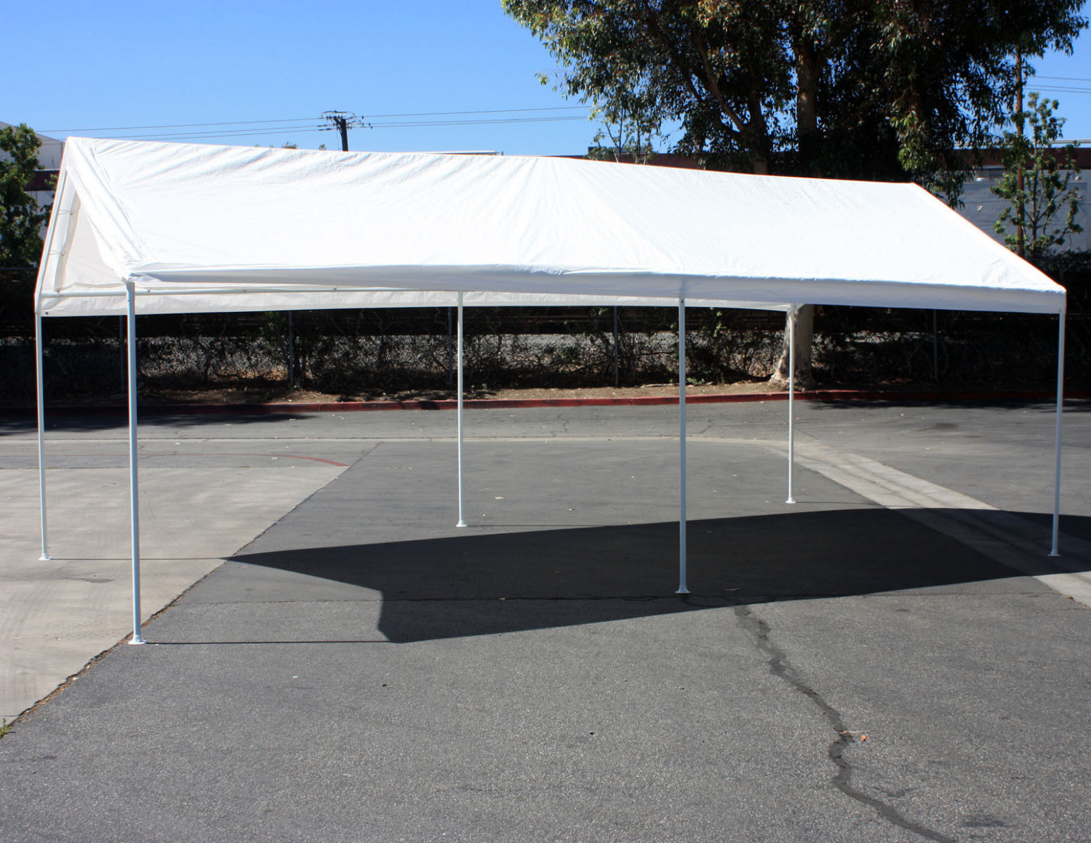 Add On Canopy Garage Side Wall Kit 8 8'x8' Tent Parking Carport Party Shelter Carport Canopy Kit