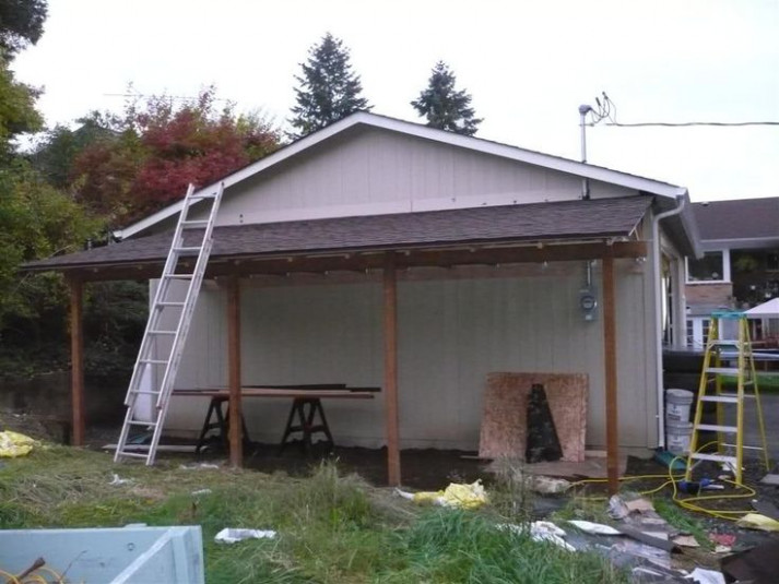 Adding A 24'x12' Lean To The Garage Journal Board ..