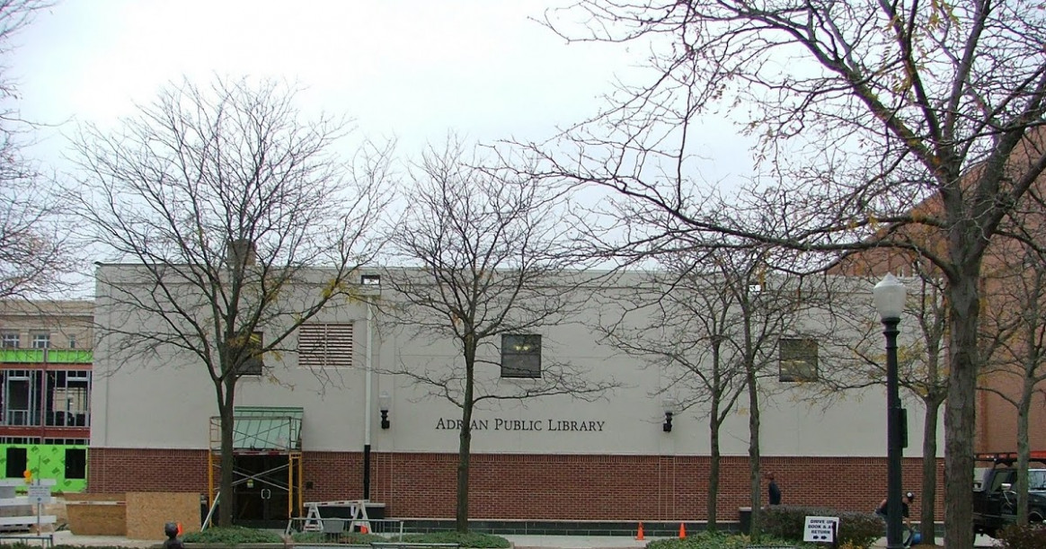 Adrian Public Library And The City Of Adrian's ..
