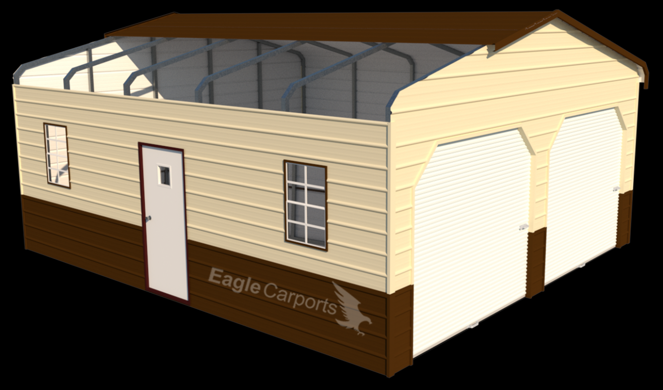 Affordable Metal Garages | Custom Steel Buildings | Eagle ..
