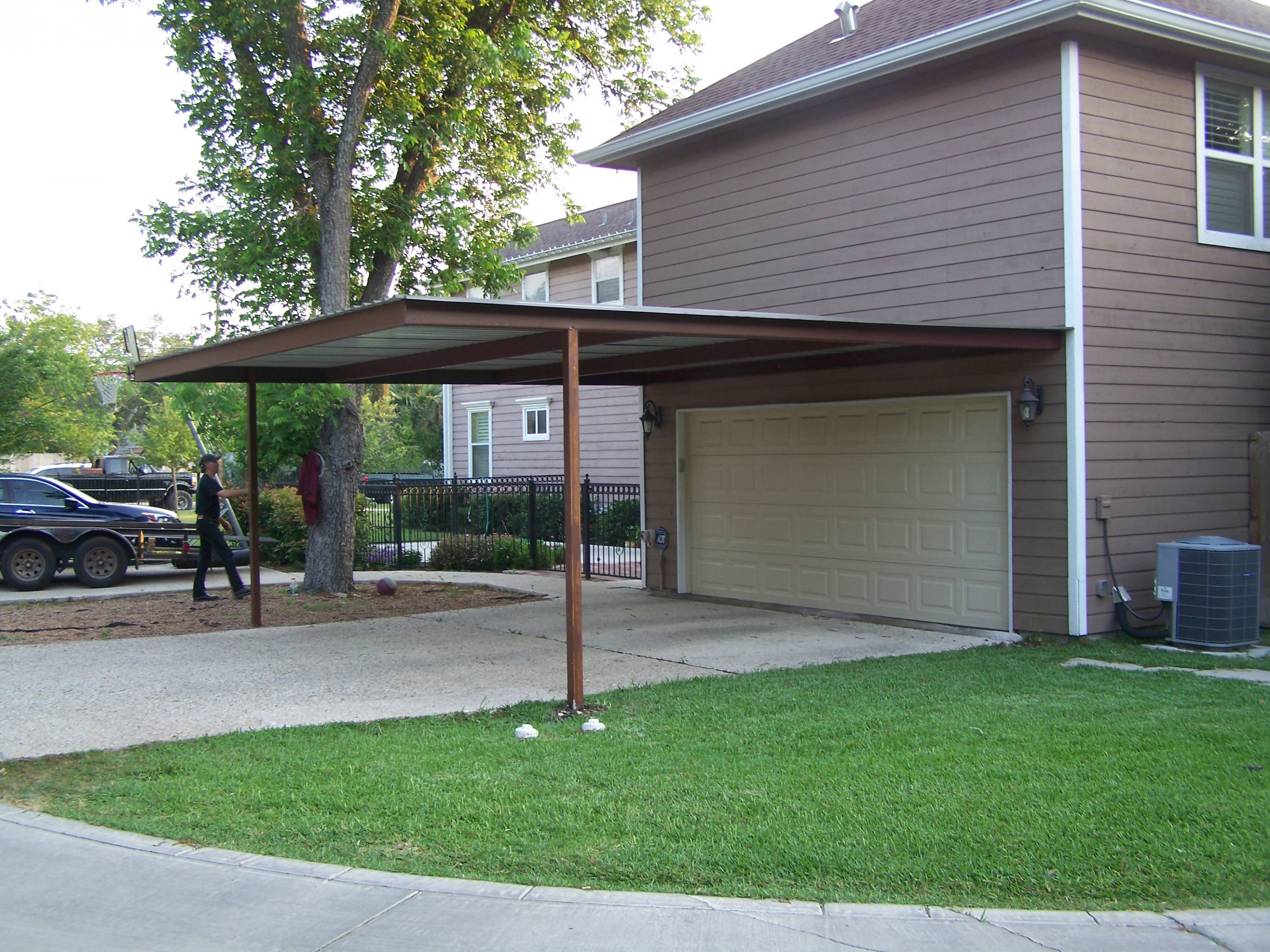 Alamo Heights Attached Carport Carport Patio Covers ..