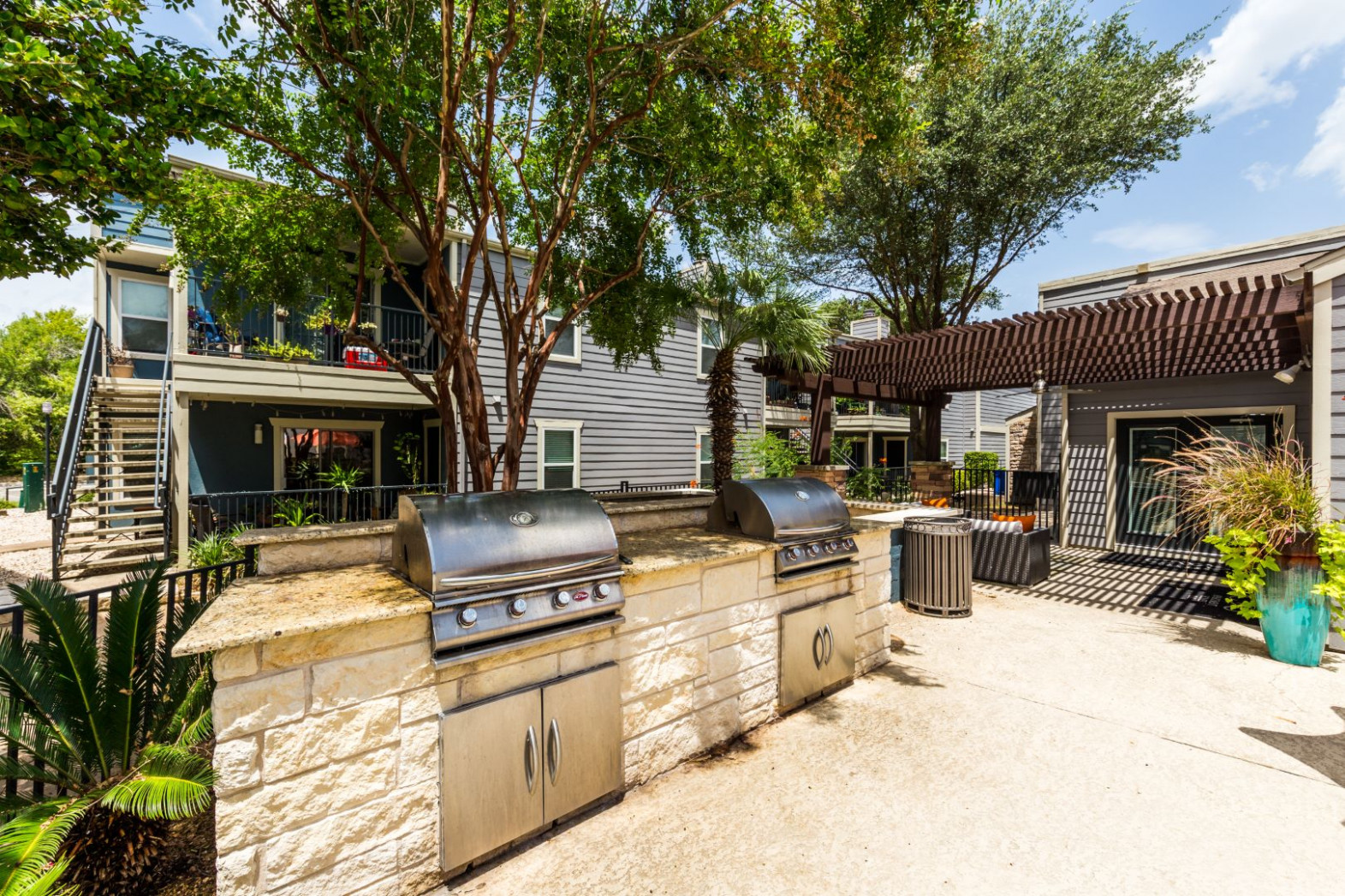 Allandale Apartments | Austin Midtown | Floor Plans Modern Carport Austin