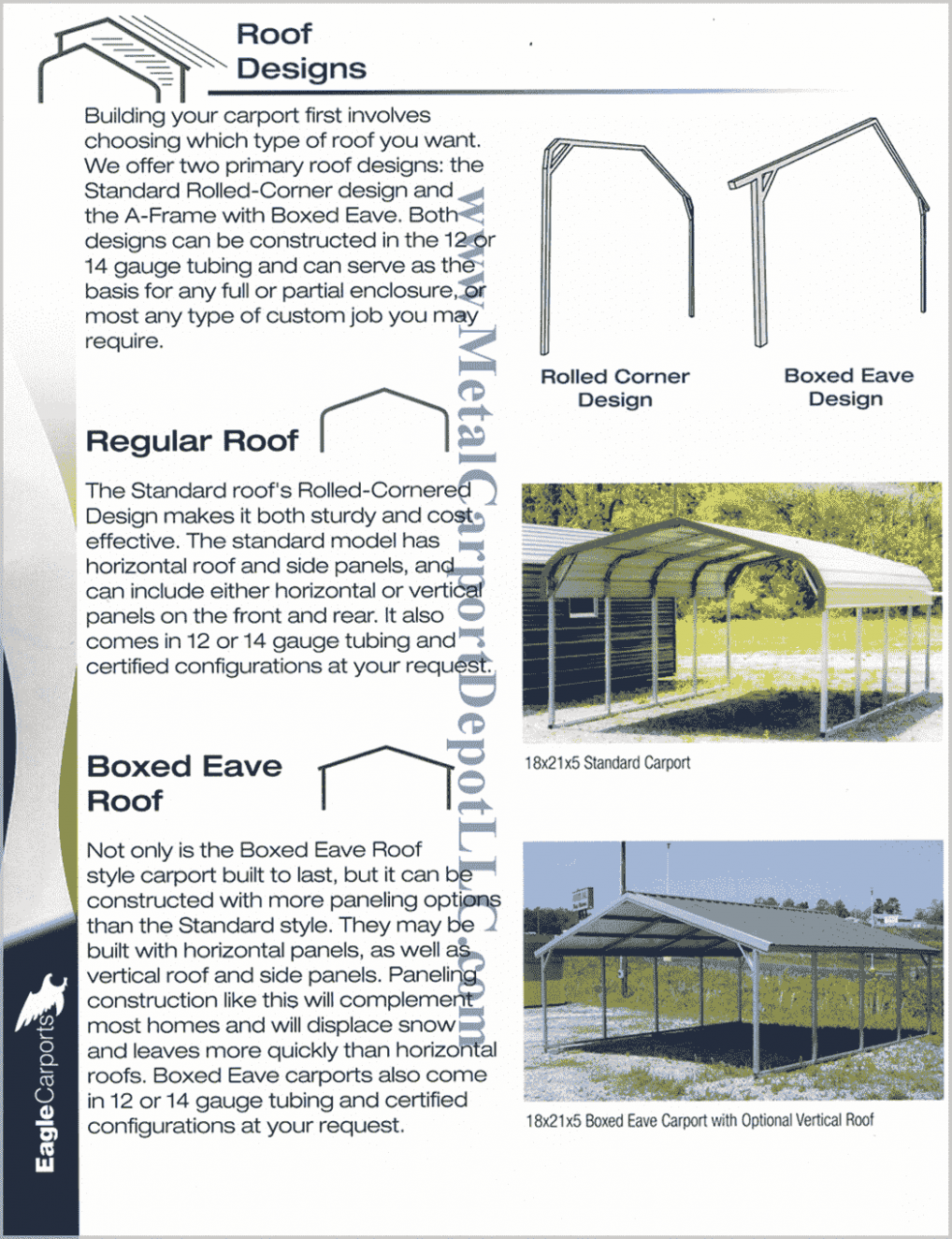 Answers To FAQ About Metal Carports & Metal Buildings Carport Minimum Roof Pitch