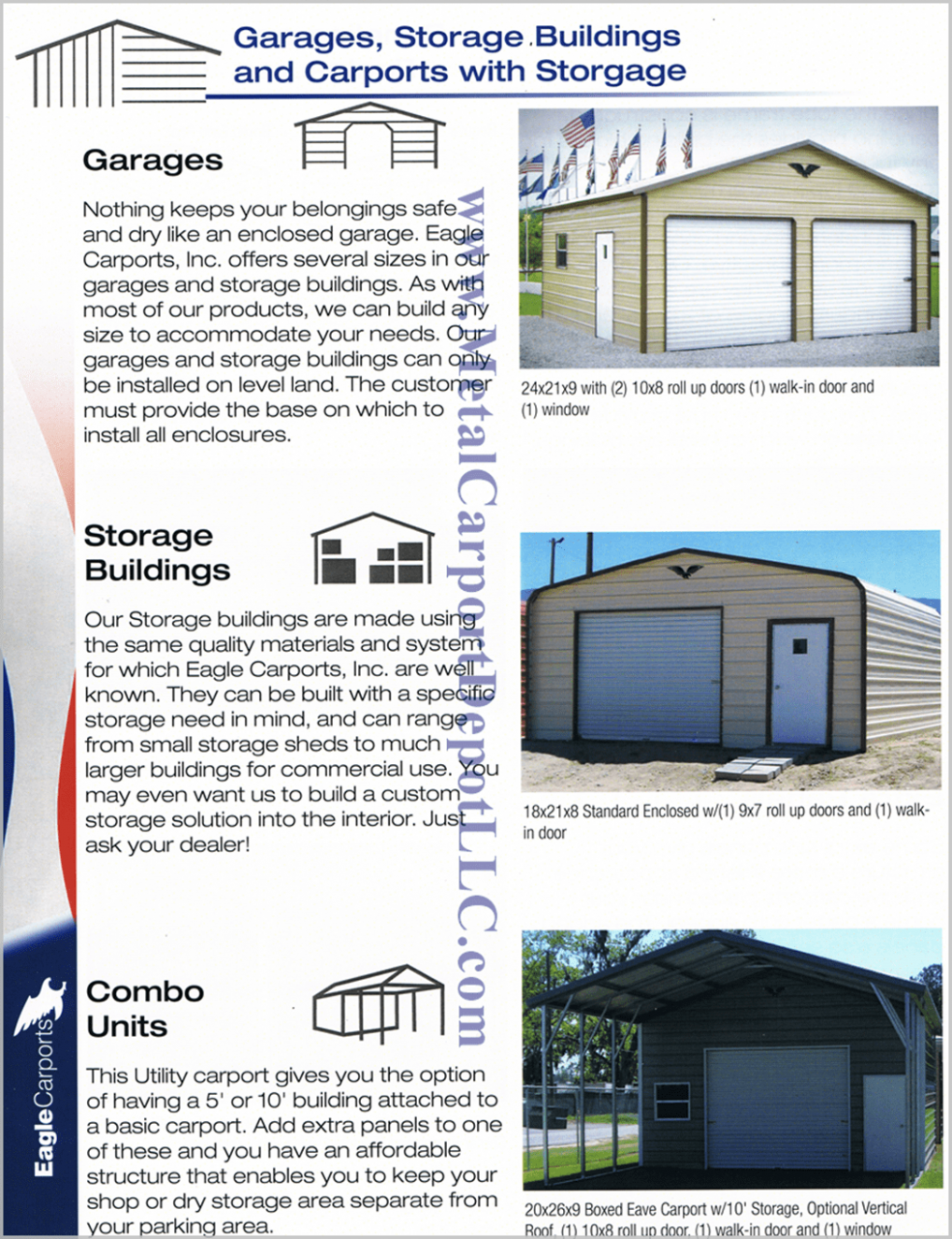 Answers To FAQ About Metal Carports & Metal Buildings Carports With Roof Storage