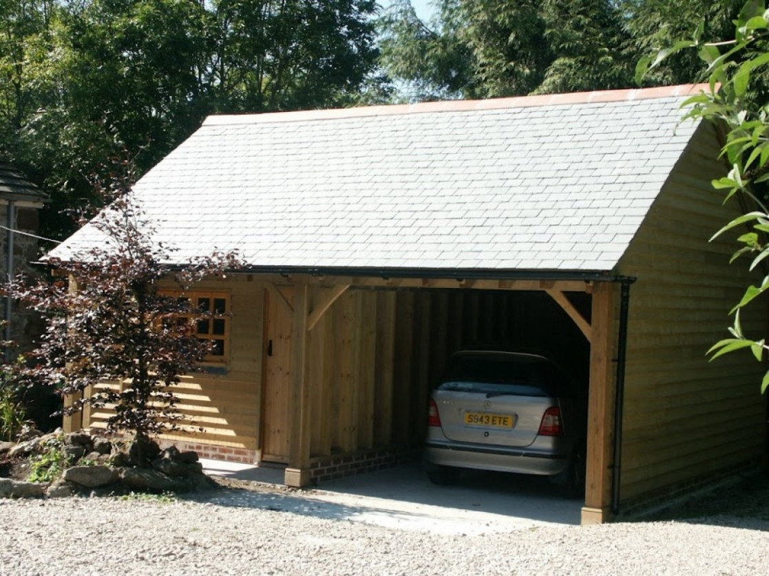 Apartment Garage Kits Steel Carports Log Garage With Carport