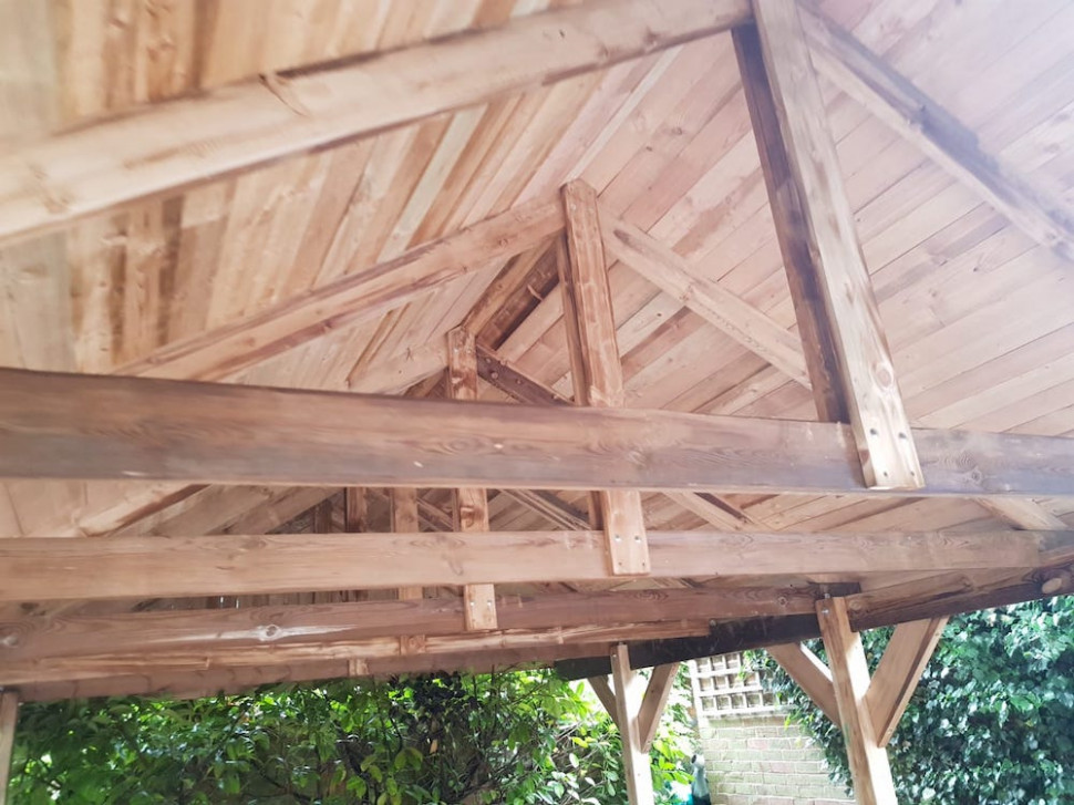 Apex Roof Carport