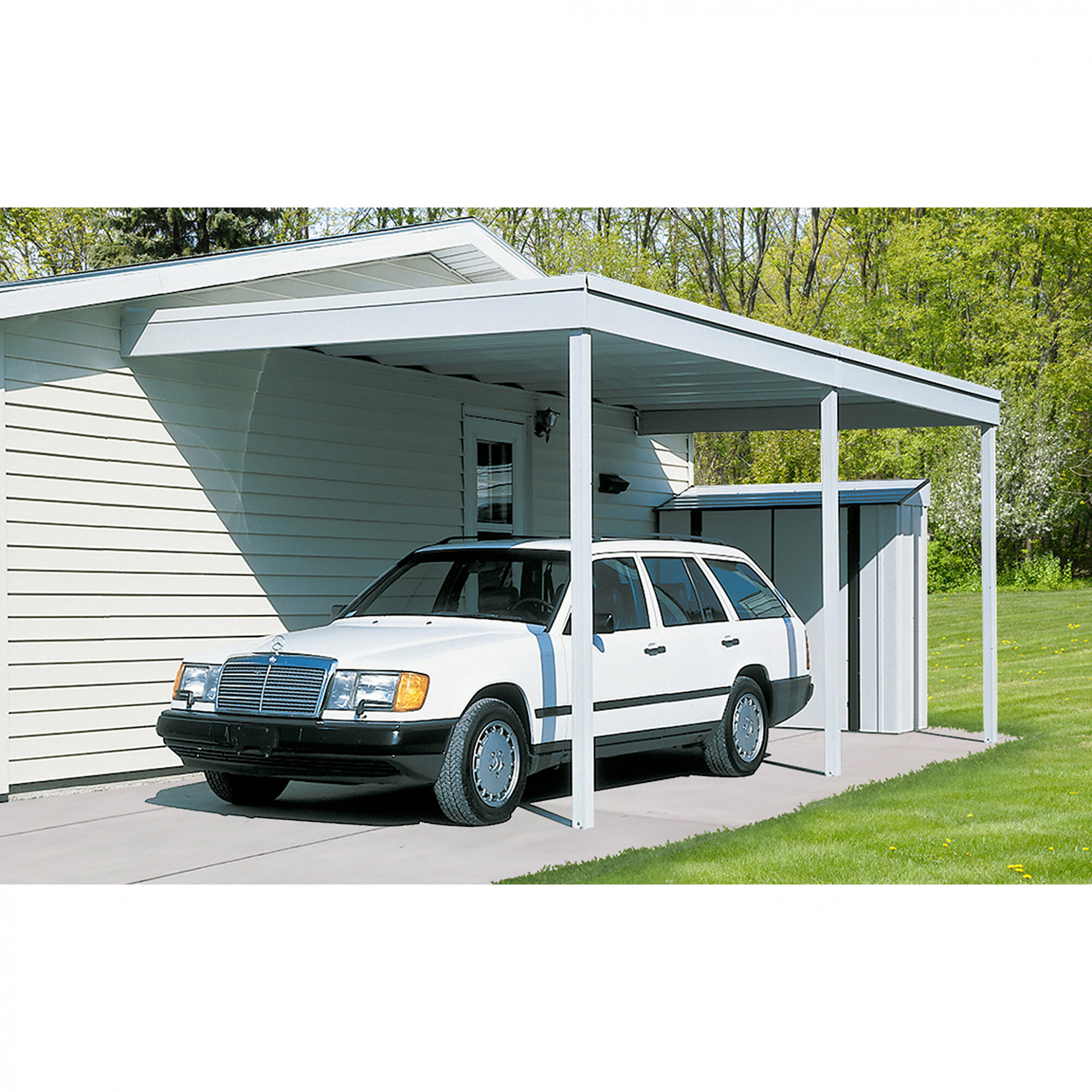 Arrow Attached Carport/Patio Cover Patio Awning & Reviews ..
