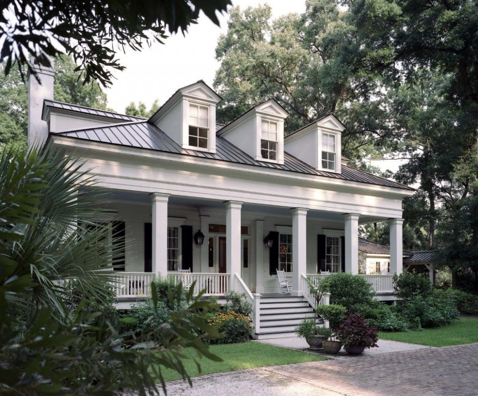 Attached Carport Plans Exterior Traditional With Greek ..