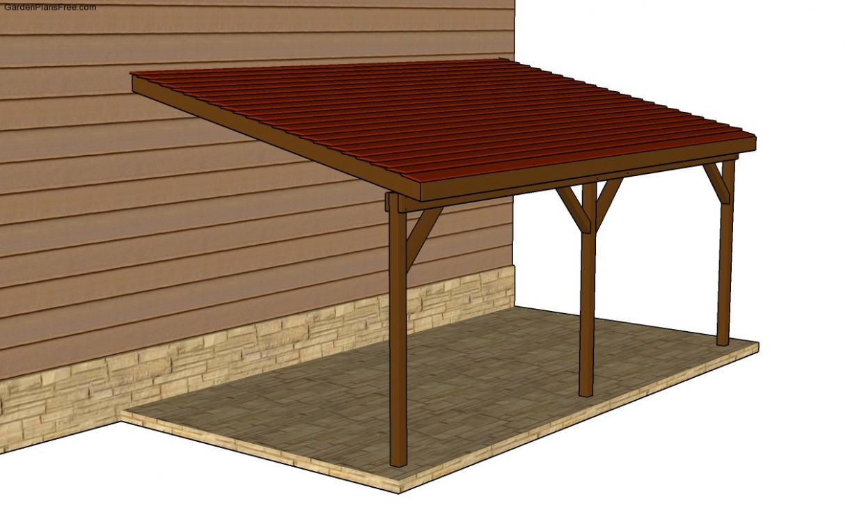 Attached Carport Plans | Free Garden Plans How To Build ..